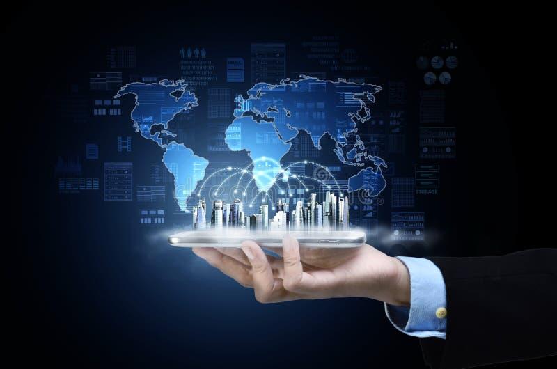 Concepto de la tecnolog?a de la informaci?n de Internet imagen de archivo libre de regalías