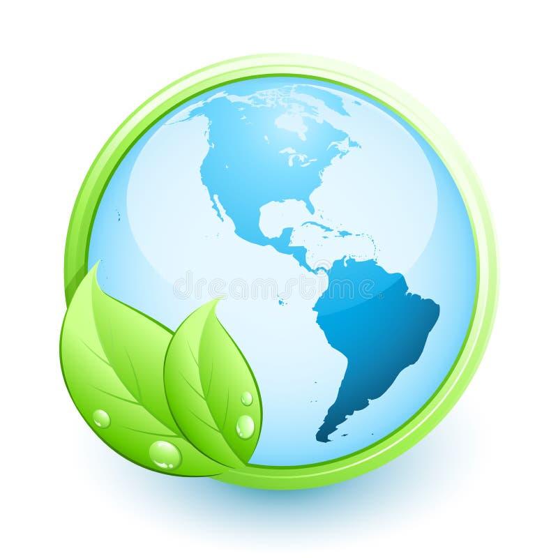 Concepto de la tierra verde
