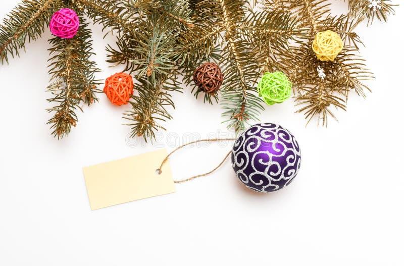 Concepto de las decoraciones de la Navidad Todo que usted necesita adornar el árbol de navidad  fotografía de archivo