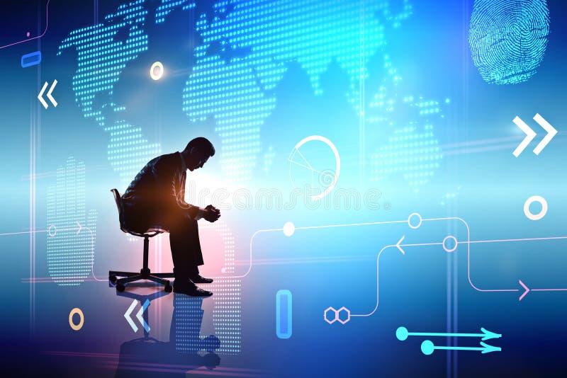 Concepto de las finanzas y de la innovación stock de ilustración