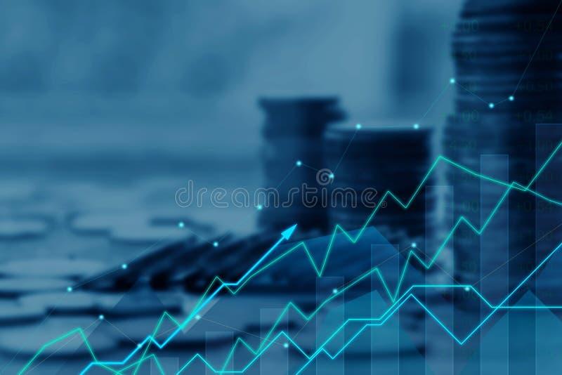 Concepto de las finanzas y de la inversión fotos de archivo