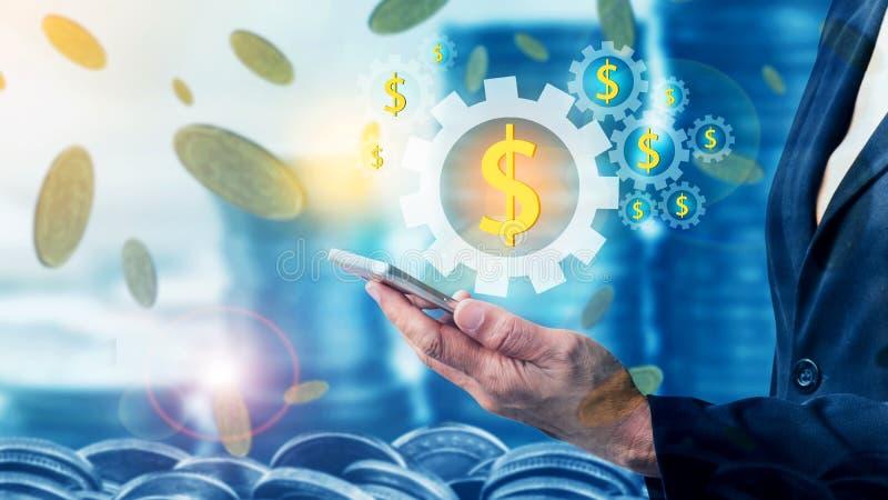 Concepto de las finanzas y de la inversión foto de archivo