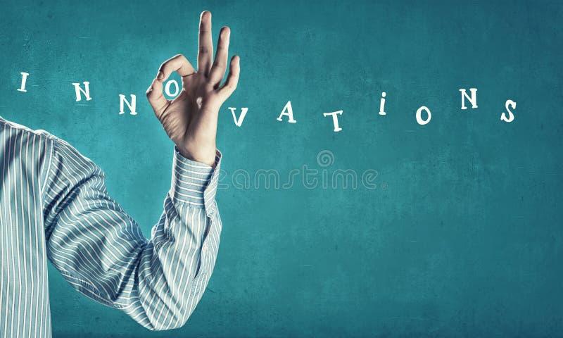 Concepto de las innovaciones fotos de archivo