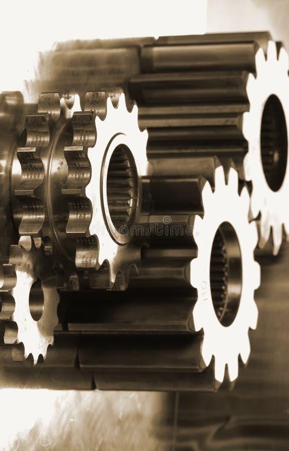 concepto de las Mecánico-piezas fotos de archivo