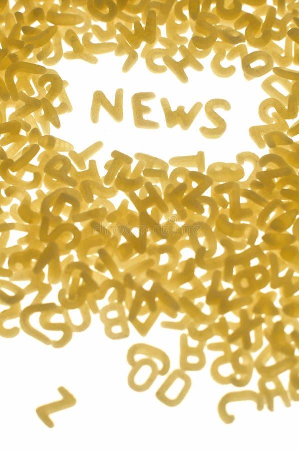 Concepto de las noticias imagen de archivo libre de regalías