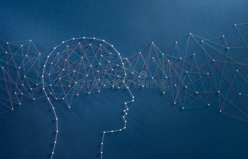 Concepto de las ondas cerebrales