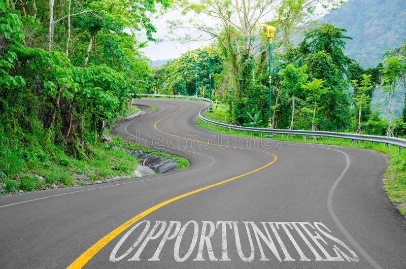 Concepto de las oportunidades imagen de archivo