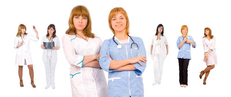 Concepto de las personas médicas foto de archivo