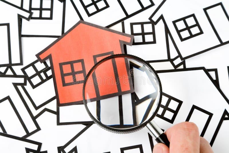 Concepto de las propiedades inmobiliarias fotos de archivo libres de regalías