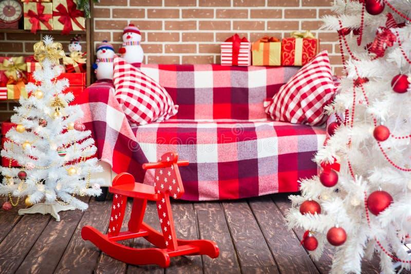 Concepto de las vacaciones de invierno de la Navidad fotos de archivo libres de regalías