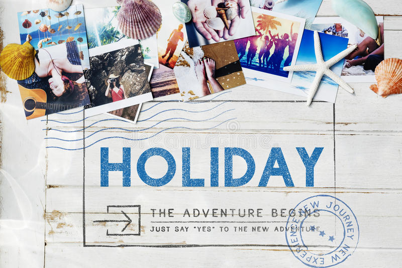 Concepto de las vacaciones de la pasión por los viajes del viaje del viaje del día de fiesta foto de archivo