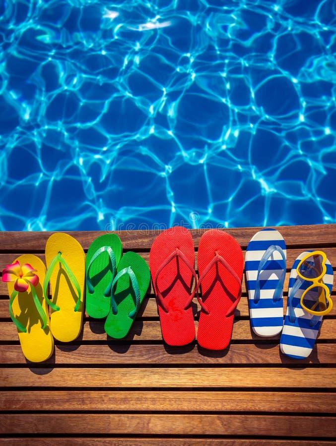 Concepto de las vacaciones de verano fotos de archivo