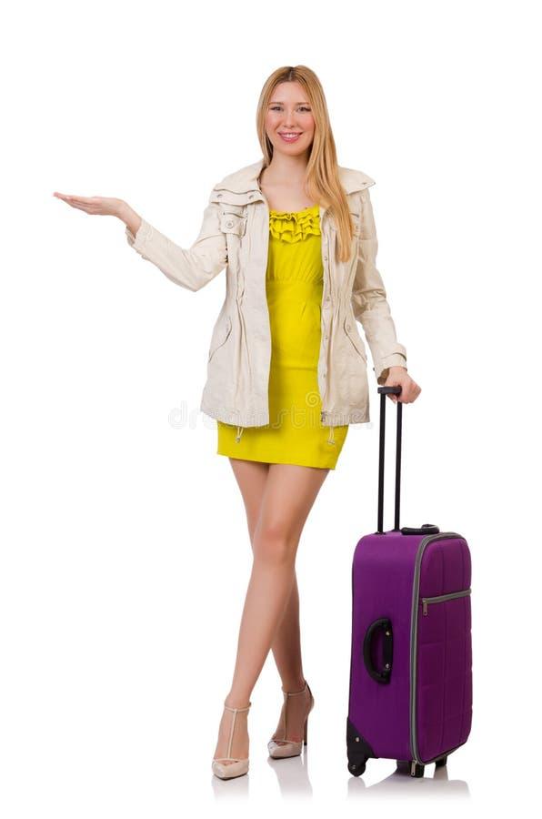 Download Concepto De Las Vacaciones Del Viaje Con Equipaje Imagen de archivo - Imagen de aeropuerto, hembra: 41914961