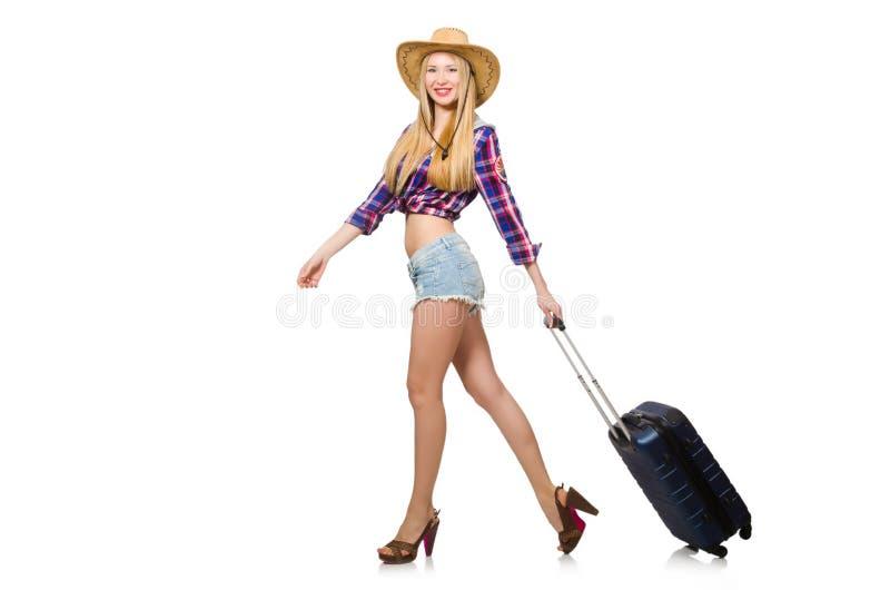 Download Concepto De Las Vacaciones Del Viaje Con Equipaje Imagen de archivo - Imagen de cartera, viaje: 41915431
