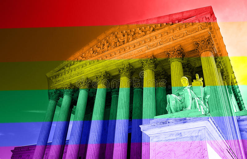 Concepto de los derechos de los homosexuales fotos de archivo libres de regalías