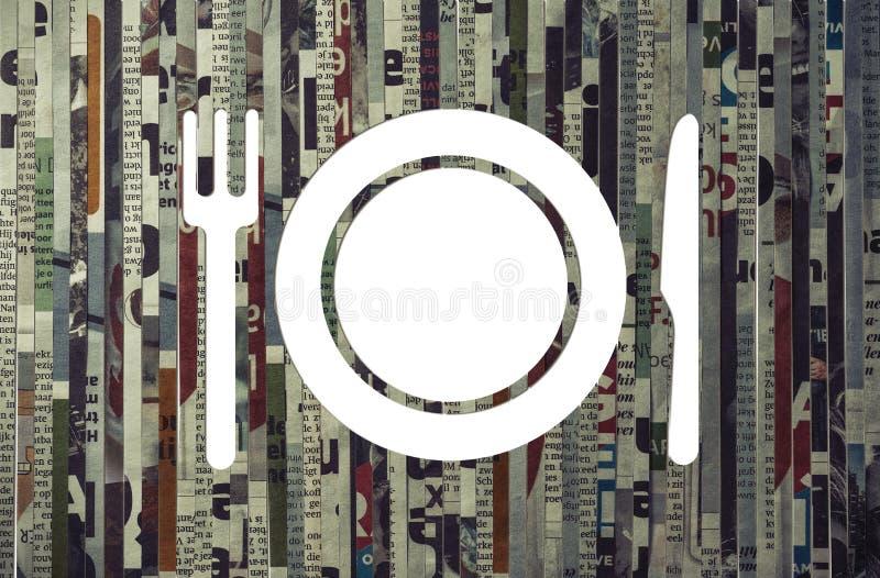 Concepto de márketing del restaurante, entrega de la comida imagenes de archivo