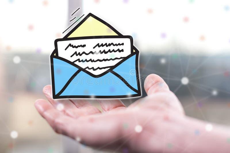 Concepto de mensaje imagen de archivo libre de regalías