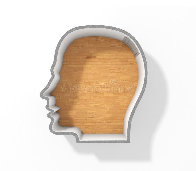 concepto de psicología foto de archivo