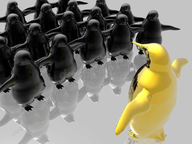 Concepto de reunión corporativa stock de ilustración