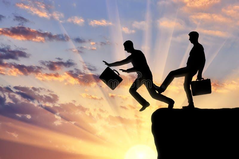 Concepto de riesgo y de competencia en negocio imagen de archivo libre de regalías