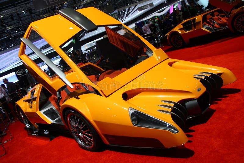 Concepto de Sbarro Autobau foto de archivo