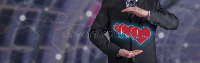 Concepto de seguro médico libre illustration