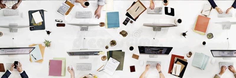 Concepto de Team Meeting Connection Digital Technology del negocio foto de archivo libre de regalías