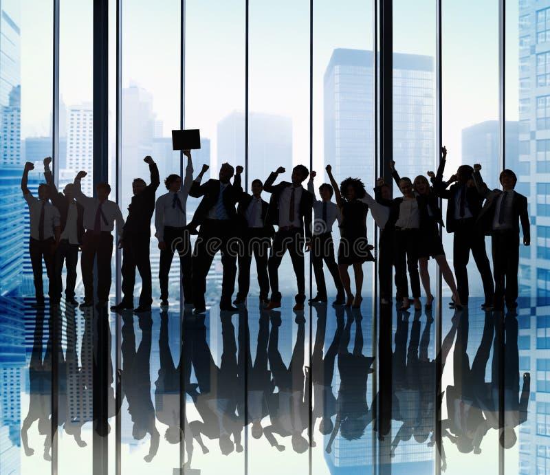 Concepto de Team Teamwork Togetherness Business Coworker del éxito imagen de archivo