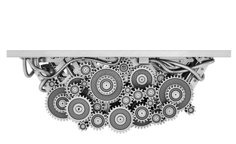 Concepto de trabajo ilustración del vector