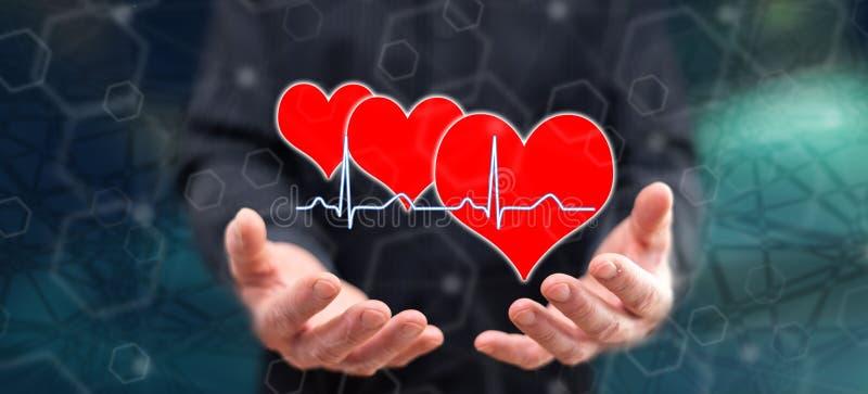 Concepto de una salud ilustración del vector