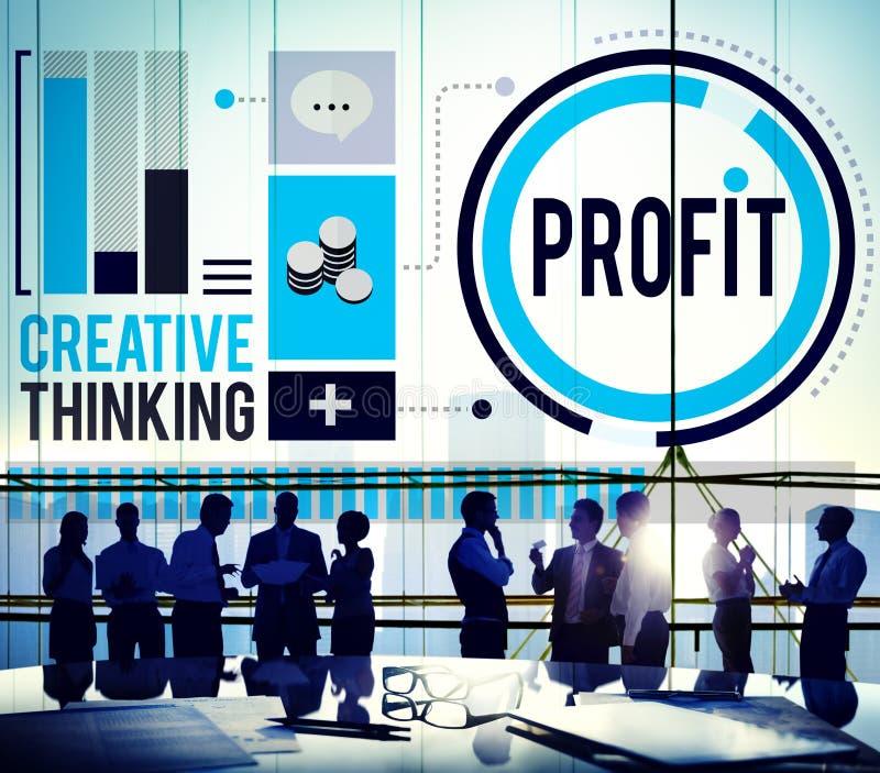 Concepto del éxito del crecimiento de la mejora de la renta de los ingresos del beneficio imagen de archivo libre de regalías