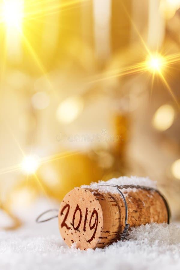 Concepto del Año Nuevo 2019 foto de archivo libre de regalías