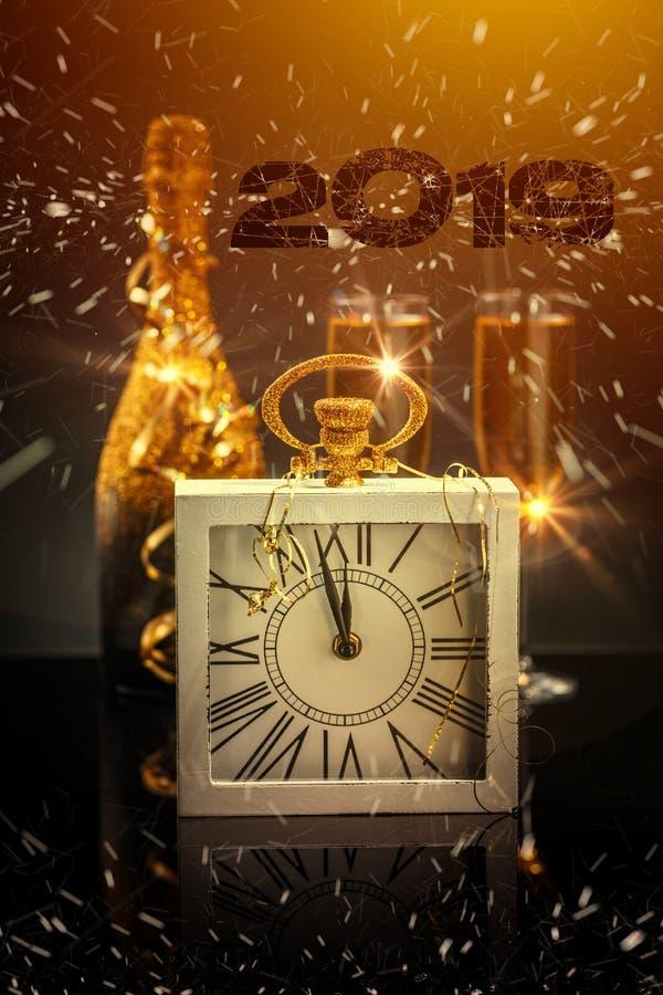 Concepto del Año Nuevo 2019 imagenes de archivo