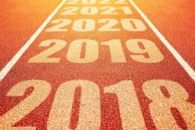 Concepto del Año Nuevo 2019 fotografía de archivo libre de regalías