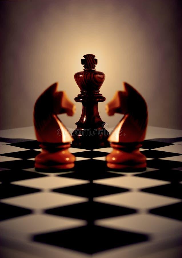 Concepto del ajedrez imagen de archivo libre de regalías