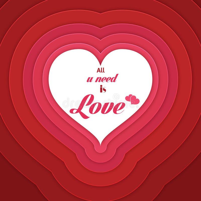 Concepto del amor libre illustration