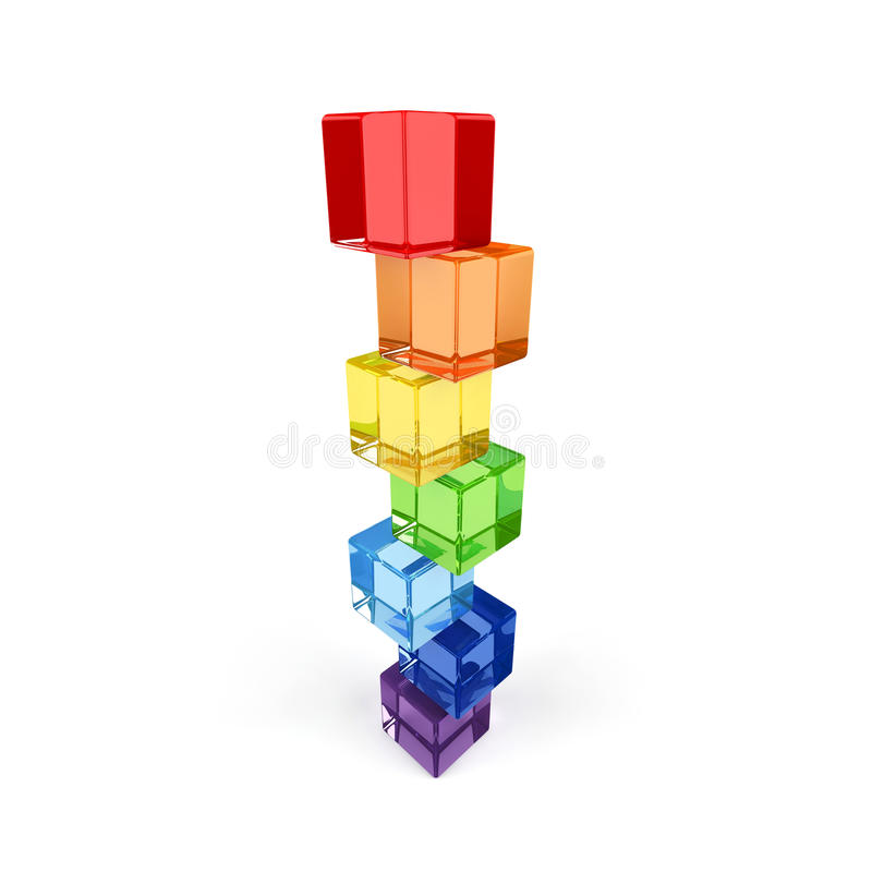 Concepto del balance. ilustración del vector