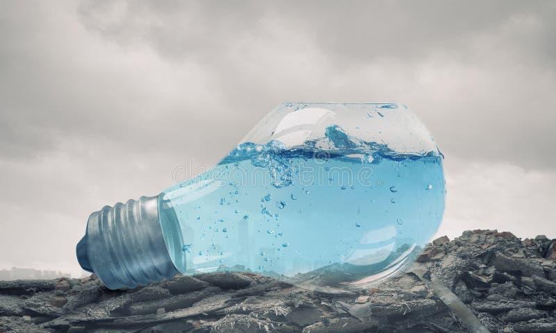 Concepto del calentamiento del planeta fotografía de archivo libre de regalías