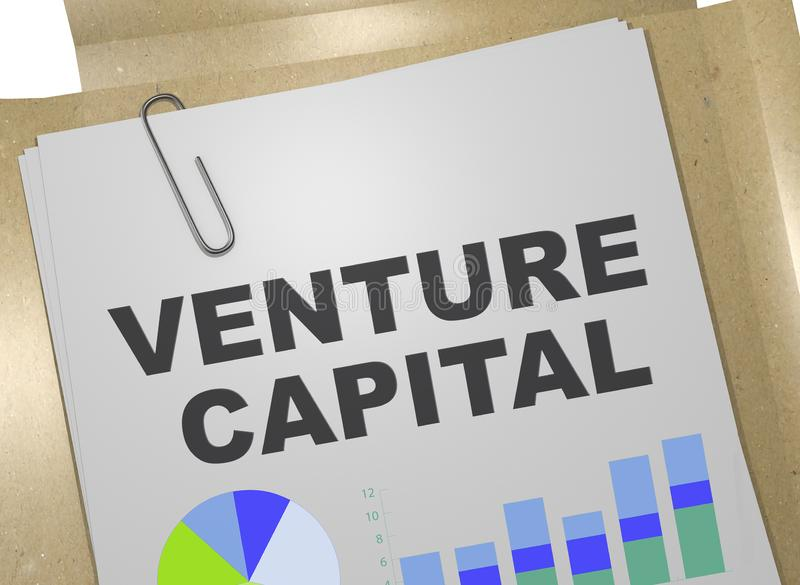 concepto del capital de riesgo  ilustración del vector