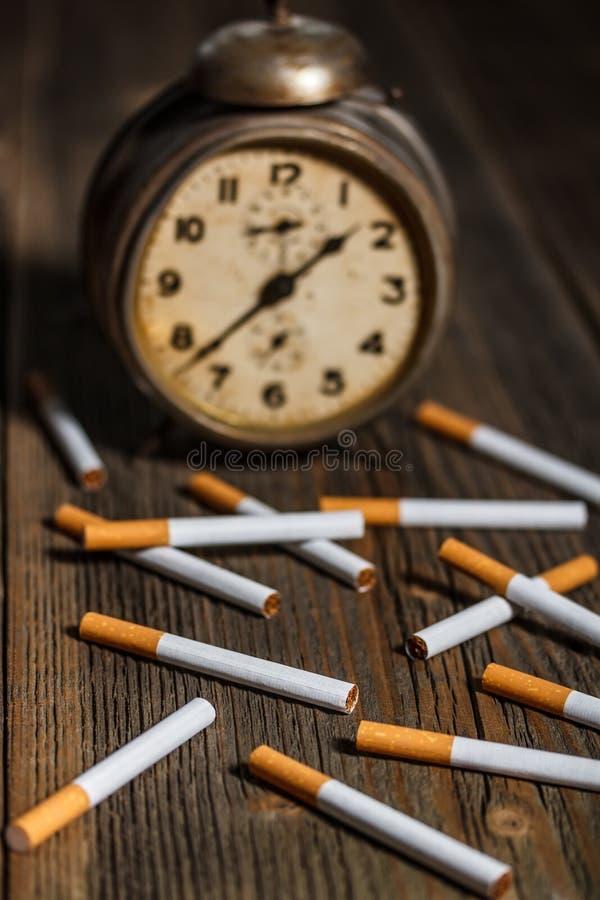 Concepto del cigarrillo foto de archivo libre de regalías