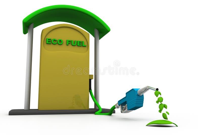 Concepto del combustible de Eco libre illustration