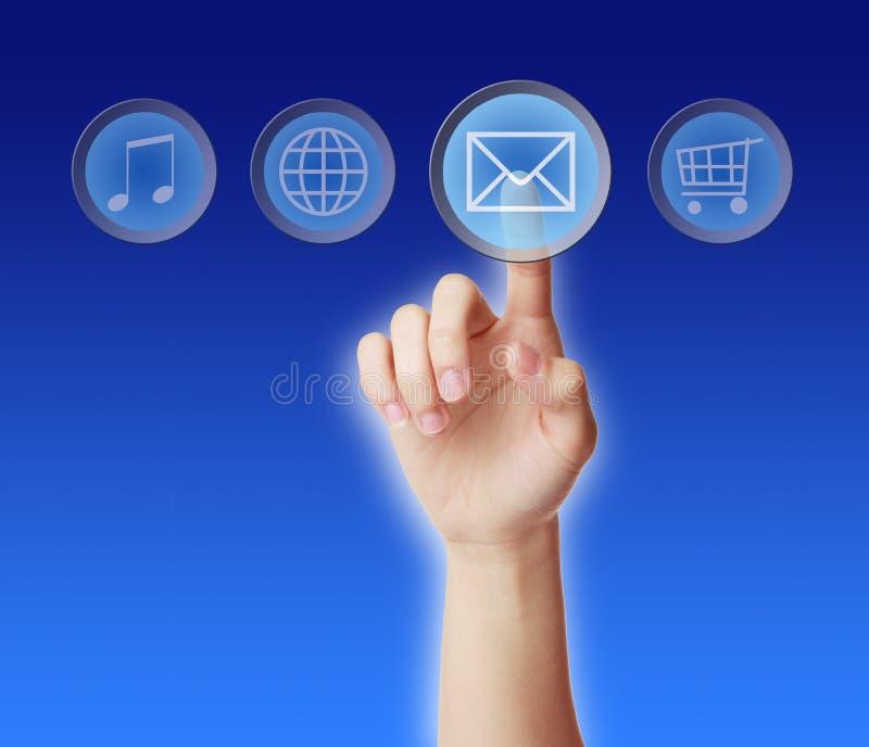 Concepto del correo electrónico fotos de archivo libres de regalías