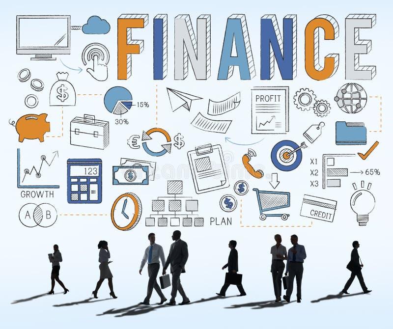 Concepto del crédito del dinero de los ahorros de la economía de las finanzas foto de archivo