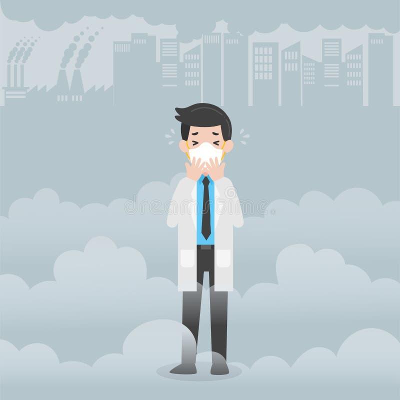 Concepto del cuidado del doctor Character Medical Health libre illustration
