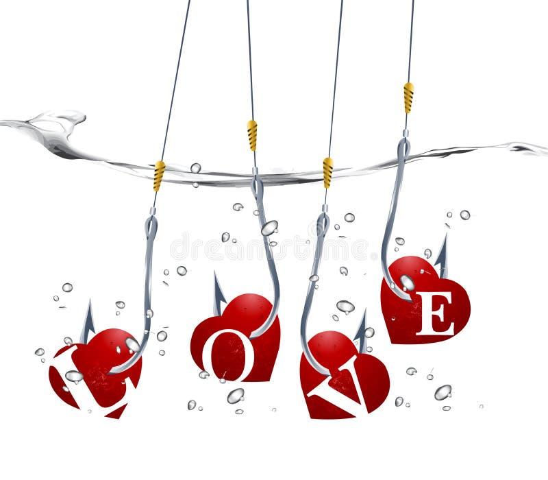 Concepto del día de tarjeta del día de San Valentín libre illustration