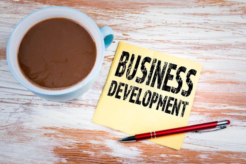 Concepto del desarrollo de negocios imágenes de archivo libres de regalías