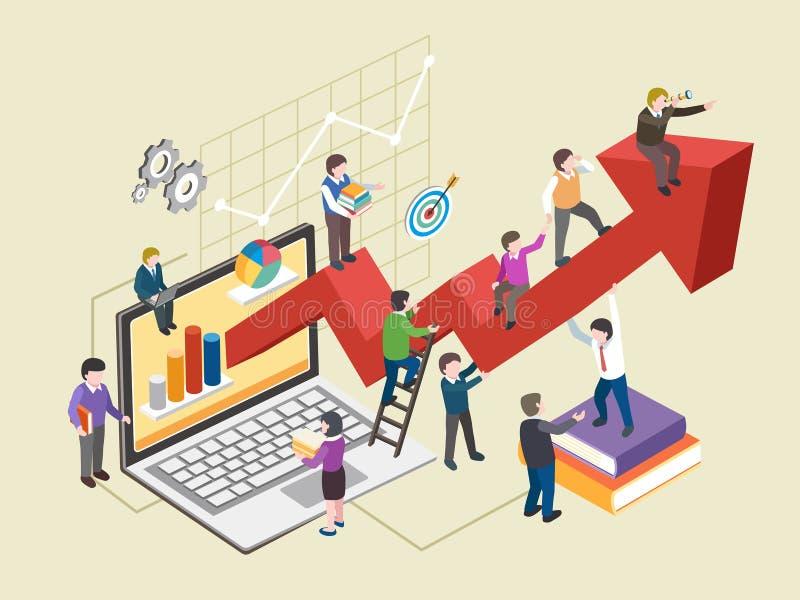 Concepto del desarrollo económico libre illustration