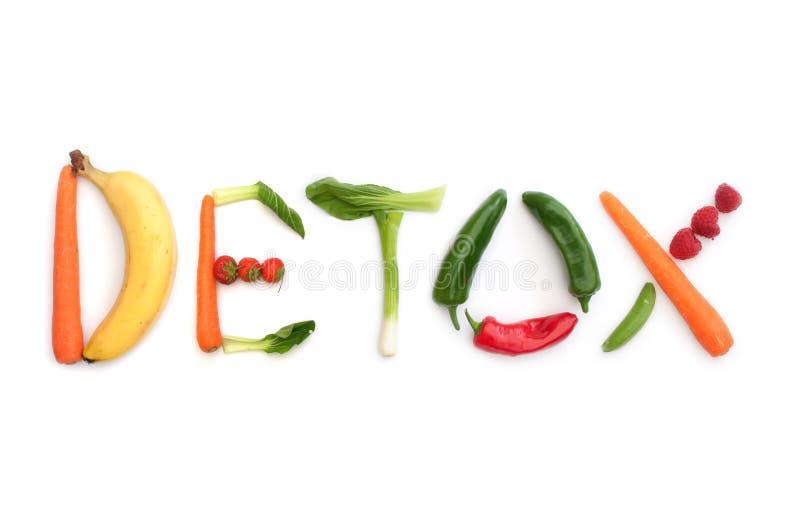 Concepto del Detox fotografía de archivo
