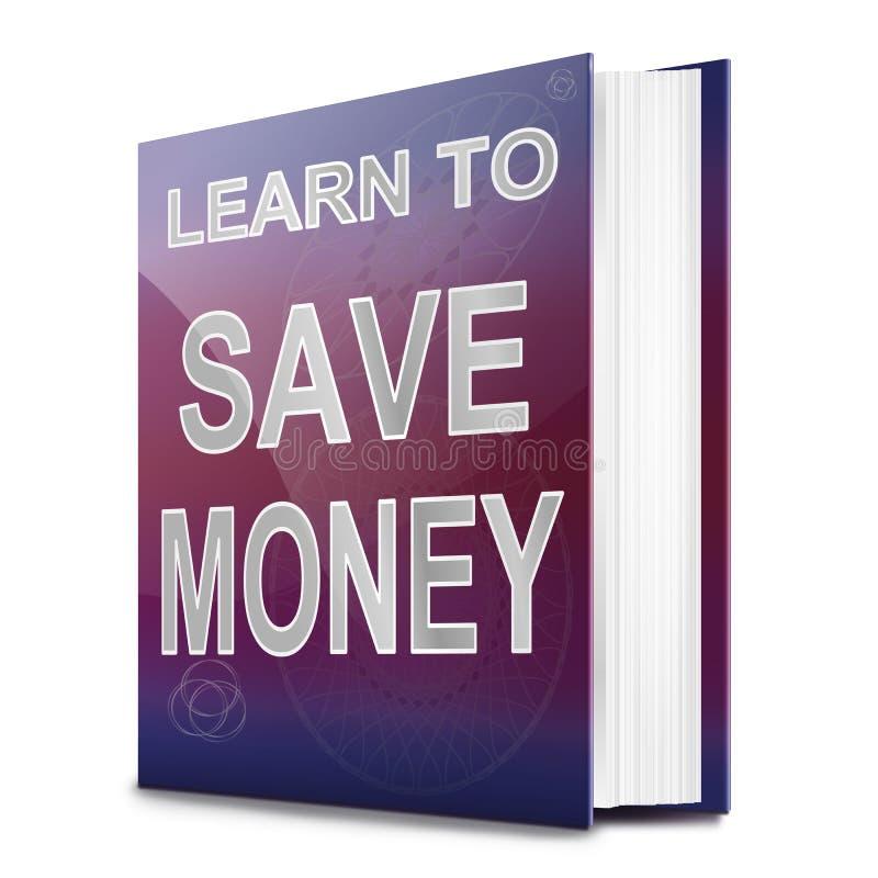 Concepto del dinero del ahorro. stock de ilustración