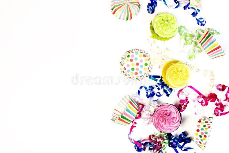 Concepto del feliz cumpleaños con el espacio de la copia foto de archivo libre de regalías